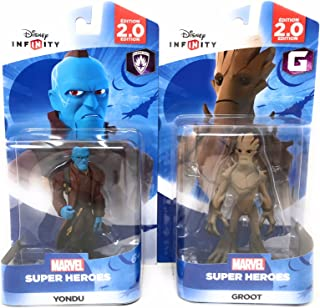 Disney Infinity: Marvel Super Heroes (2.0 Edition) Groot & Yondu Figures Guardians Of The Galaxy - Not Machine Specific