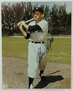 Signed Enos Slaughter Photo - 8x10 IX - Autographed MLB Photos
