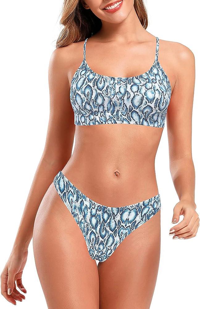 Shekini, costume da bagno per donna, due pezzi, 82% poliammide, 18% elastan, 12119 12221 12247 12175 1292G