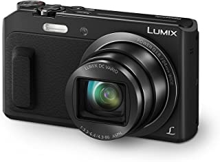 Panasonic Lumix DMC-TZ57 - Cámara Digital (16 MP 1/2.33 Mos 20x 4608 x 3456 Pixeles) Color Negro (versión importada)
