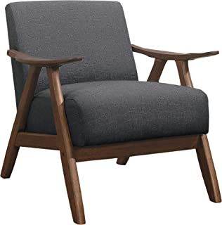 Lexicon Fabric Accent Chair, Gray