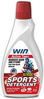WIN Sports Detergent - Specially Formulated for Sweaty Workout Clothes - Removes Odor from Running Gym and Activewear Appa...