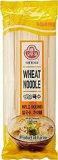 Ottogi Wheat Noodle, Thick Round, 500g