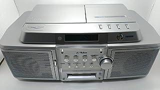 Victor ビクター JVC RC-Z1MD-S シルバー CD-MDポータブルシステム Clavia クラビア (CD/MDデッキ)(ラジカセ形状)