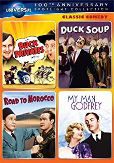 Classic Comedy Spotlight Collection: (Buck Privates / Duck Soup / Road to Morocco / My Man Godfrey)