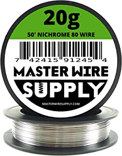 Nichrome 80 - 50' - 20 Gauge Resistance Wire