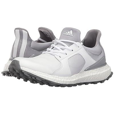 adidas Golf Climacross Boost (Ftwr White/Light Onix/Silver Metallic) Women