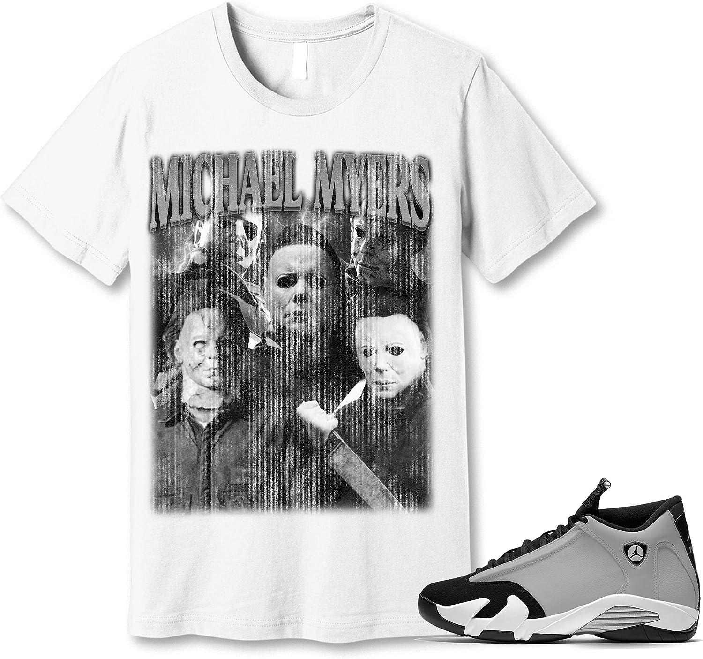#Michael Denver Mall #Myer Shirt to Match Jordan 14 Grey Particle Black Snea Our shop OFFers the best service