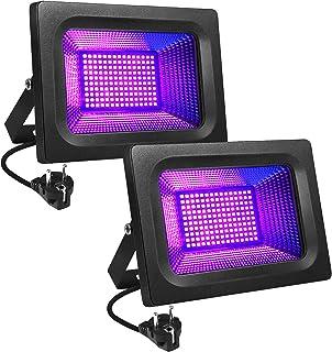 Litake Led-uv-blacklight, 30 W, paarse led-spot, schijnwerper, feestlicht, podiumdecoratie, licht, IP65 waterdicht, blackl...