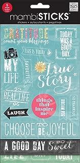 me & my BIG ideas Chalk Sticker, Gratitude