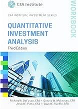Quantitative Investment Analysis Workbook, 3rd Edition (CFA Institute Investment Series)