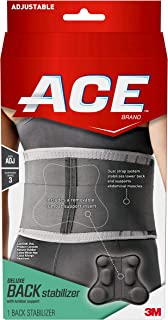 ACE Deluxe Back Stabilizer, with Lumbar Support, Helps stabilize lower back pain and supports abdominal muscles