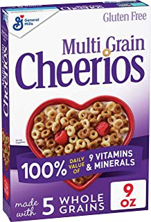 Multi Grain Cheerios Multigrain Cereal, Gluten Free, 9 oz