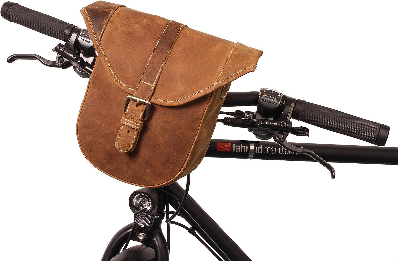 Gusti handlebar bag bicycle Ranking TOP9 leather Félicia shoulder - B. gift