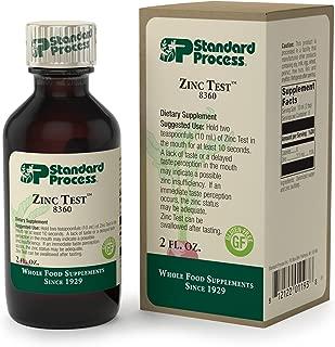 liquid zinc assay test