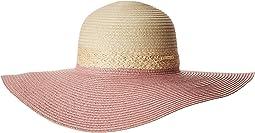 Vince Camuto Color Block Resort Floppy Hat