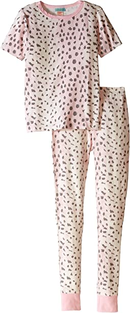 BedHead Kids - Short Sleeve Long Bottom Pajama Set (Big Kids)