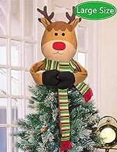 Best reindeer tree topper Reviews