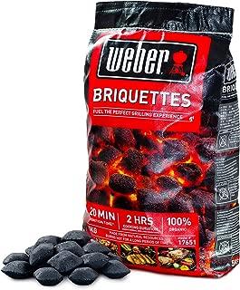 ウェーバー(Weber) バーベキュー コンロ用 安心,安全BBQ チャコールブリケット(炭)5㎏ 人,環境,食材に優しい100%自然素材 【日本正規品】