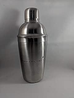 Johnnie Walker Walking Man Stainless Steel 3 Piece Bar Shaker