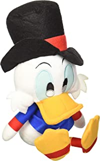 Retired Disney Donald Ducks Uncle Scrooge 10 Plush Bean Bag Ebenezer Scrooge Doll Mint with Tags