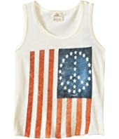 O'Neill Kids - Flag Peace Tank Top (Little Kids/Big Kids)