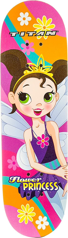 Titan Flower Power Princess Complete for trust Manufacturer direct delivery Skateboard Girls
