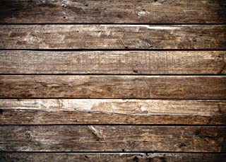 LYWYGG 7x5ft Photography Backdrop Brown Wood Backdrops Photography Wood Floor Wall Background Photographyers CP-172