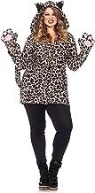 Leg Avenue Women's Plus-Size Cozy Leopard Costume