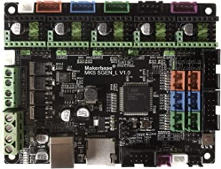 Beshine 3D Printer Board MKS SGen_L 32-bit Controller Compatible with Marlin2.0 and Smoothie Firmware.Support Multiple Types of Drivers (MKS SGEN-L)