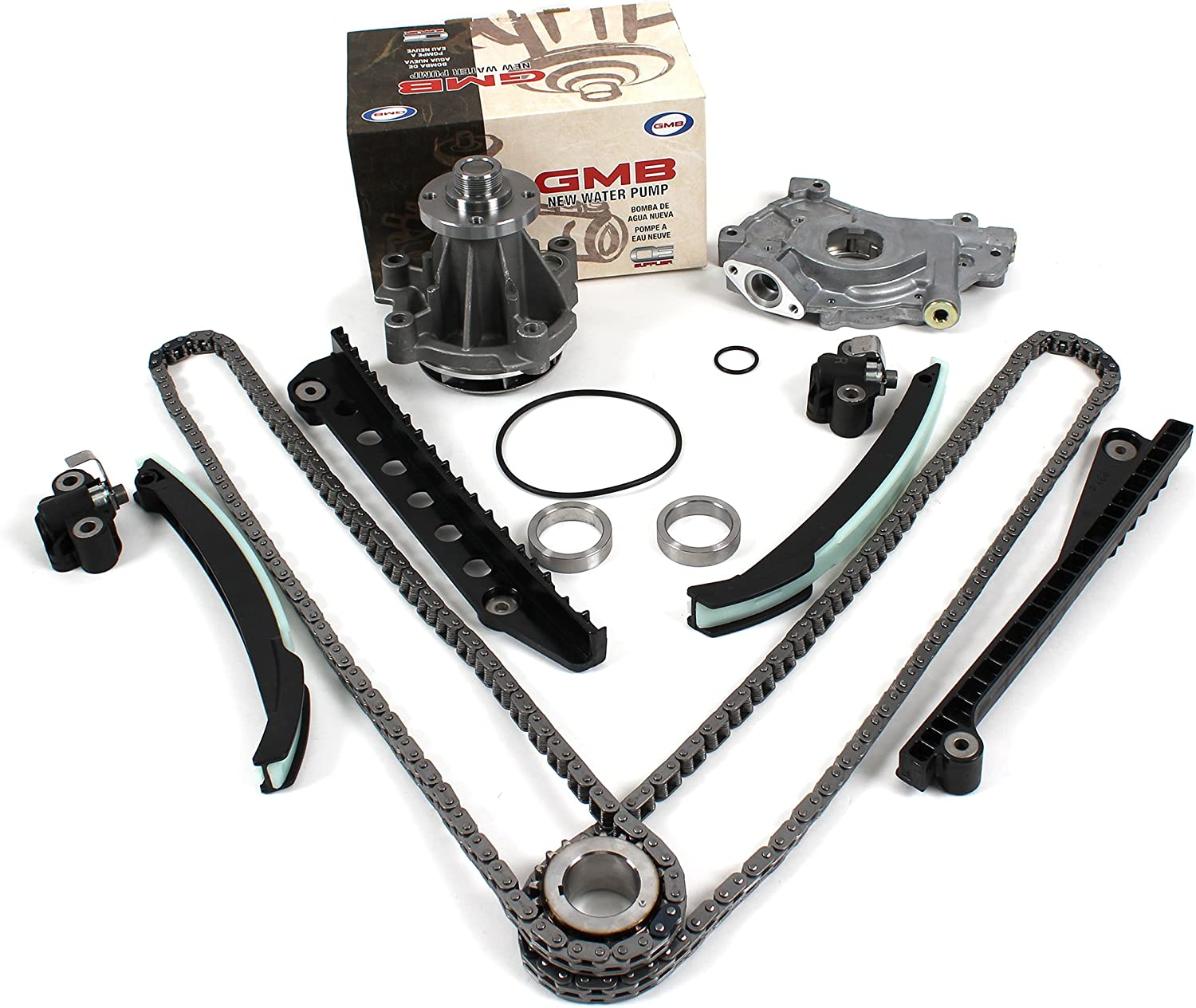 New Timing Chain Kit Updated Pump Tensioners Oil Branded goods Ranking TOP15 Water