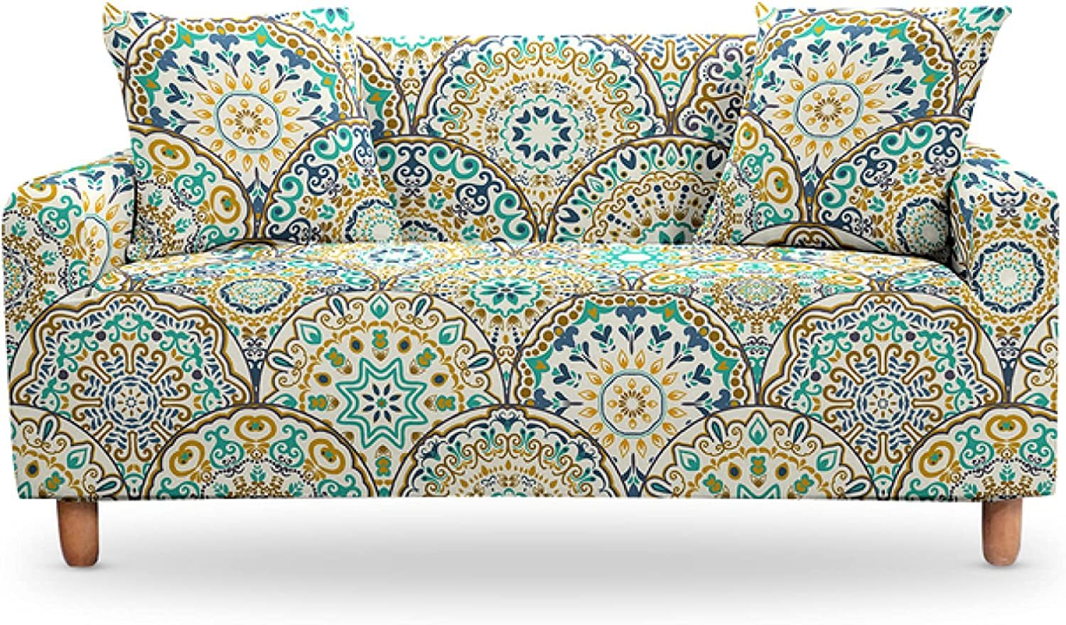 ZHOUMOLIN Max Outlet SALE 41% OFF Couch Sofa Cover for Elastic Living Room Str Slipcover
