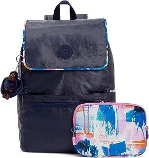 Kipling Aliz Lacquer Indigo Blue Tech Backpack