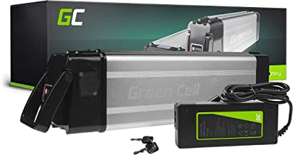 GC® Fietsaccu 36V 15Ah Li-Ion E-Bike Silverfish Green Cell Accu voor Elektrische Fiets Batterij met Lader