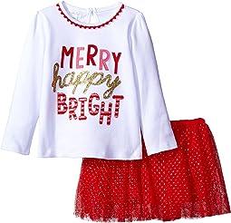 Merry Skirt Set (Infant/Toddler)