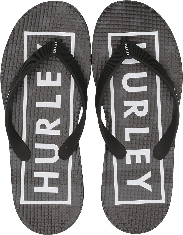 Hurley Men's One & Only Printed Sandal Flip-Flop