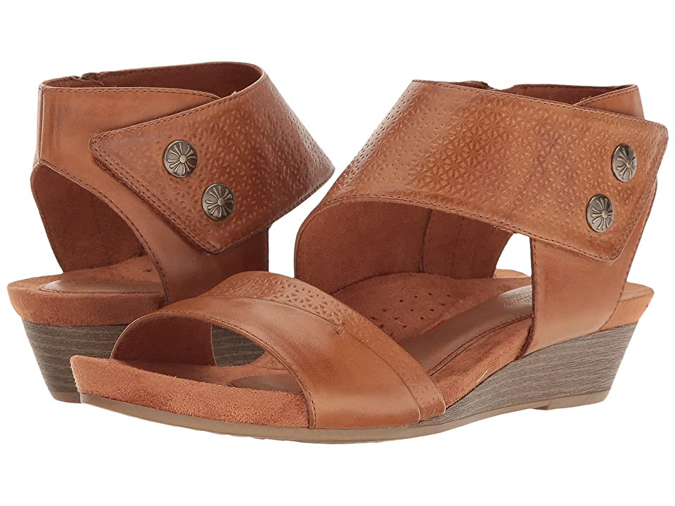 Rockport Cobb Hill Collection Cobb Hill Hollywood Two-Piece Cuff (Tan Leather) Women