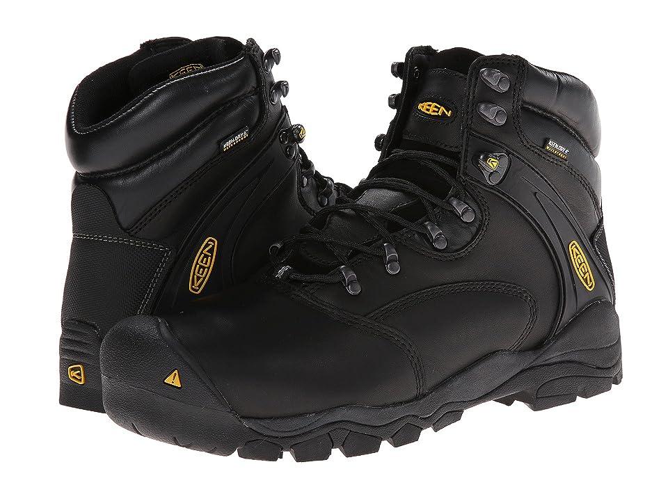 Keen Utility Louisville 6 Steel Toe (Black) Men