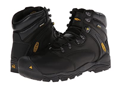 Keen Utility Louisville 6 Steel Toe (Black) Men