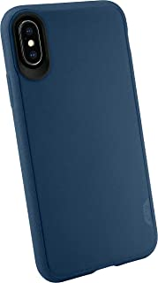 Silk iPhone Xs/X Slim Case - Kung Fu Grip [Lightweight + Protective] Thin Cover for Apple iPhone 10 - Blues on The Green (Renewed)