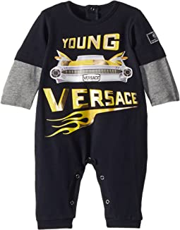 Versace Kids - Romper w/ Car Graphic (Infant)