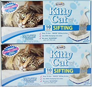 Best jumbo sifting litter box liners Reviews