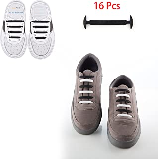 No Tie Shoelaces for Men and Women–簡単にInstal–防水シリコンゴムAthletic Shoe Lacesマルチカラー–Fits mostタイプ靴