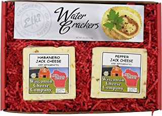 WISCONSIN CHEESE COMPANY'S - Wisconsin Classic HOT Jack Cheese & Cracker Gift