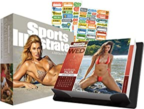 Sports Illustrated Swimsuit 2020 Calendar, Box Edition Bundle - Deluxe 2020 Sports Illustrated Swimsuit Day-at-a-Time Box Calendar with Over 100 Calendar Reminder Stickers