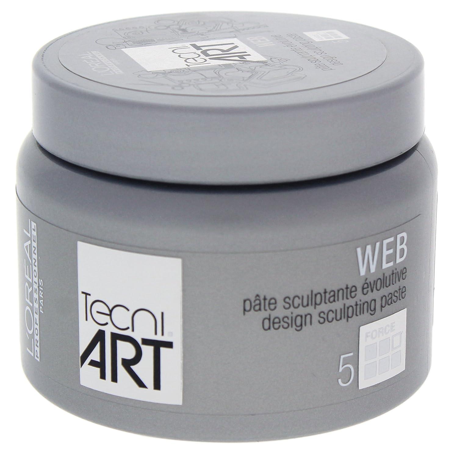 トリップ交換対応するロレアルテクニアートTecni Art Force 5 Web Design Sculpting Paste