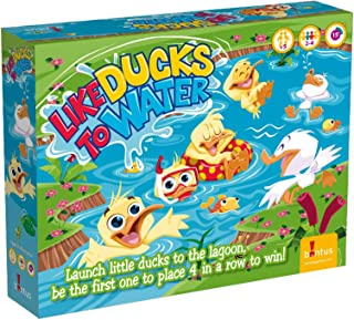 Like Ducks to Water, 4 in a Row Skill & Action Board Game. Smart and Fun for Kids and Family Play.