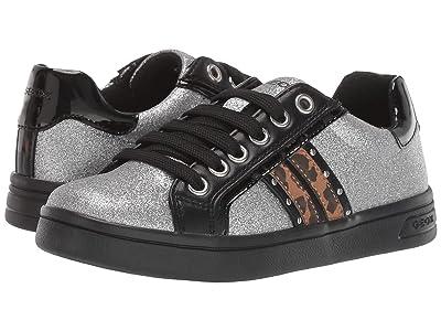 Geox Kids Jr Djrock 39 (Little Kid/Big Kid) (Silver) Girls Shoes