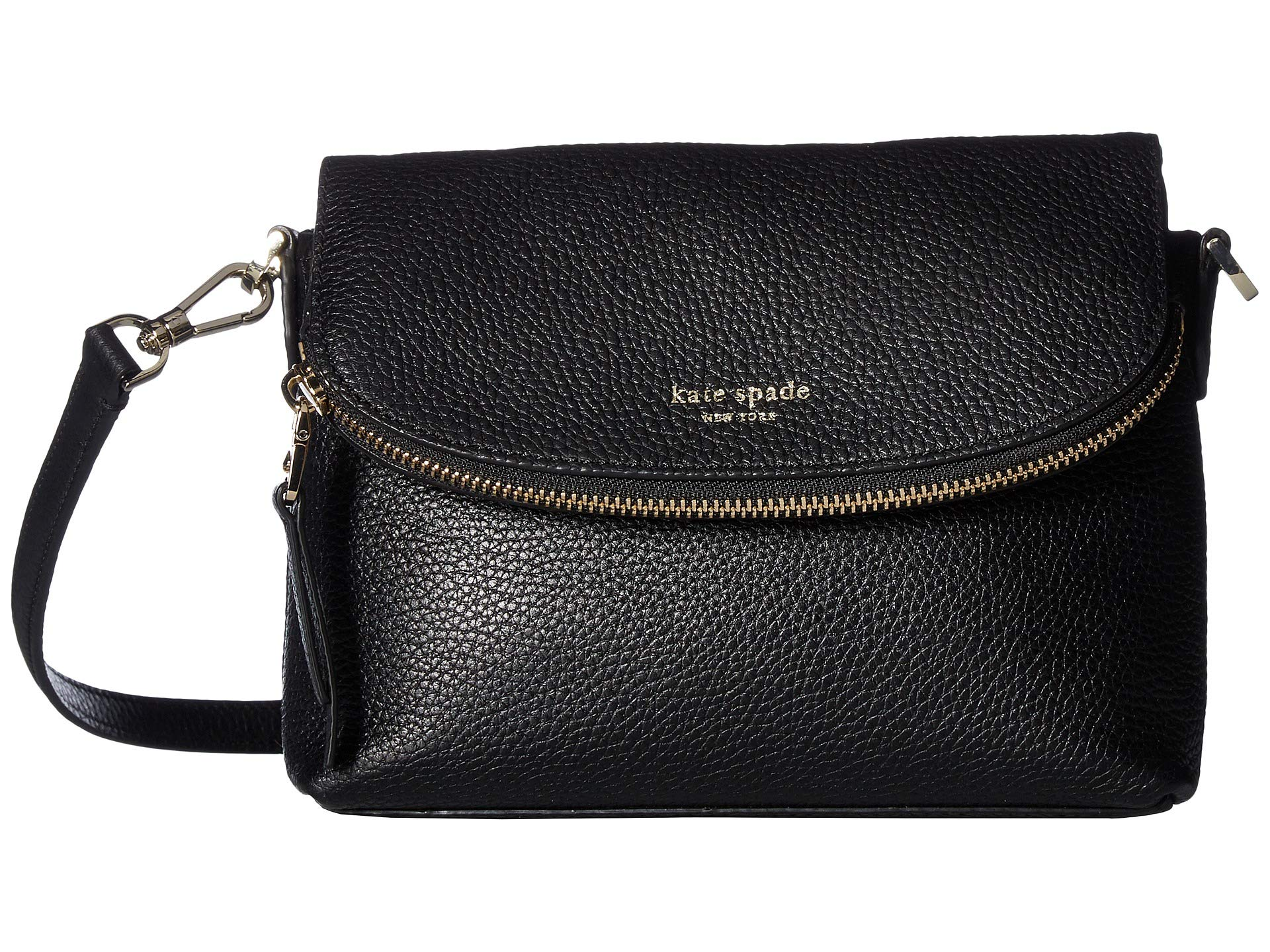 06588b632bf9 Kate Spade New York Polly Small Flap Crossbody at Luxury.Zappos.com
