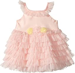 Satin Dress with Tulle (Infant)
